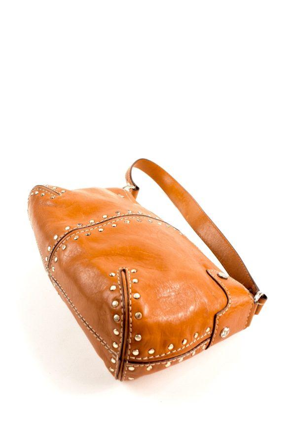 16412da23ee8 MICHAEL KORS camel-tone leather studded handbag | | Modaville
