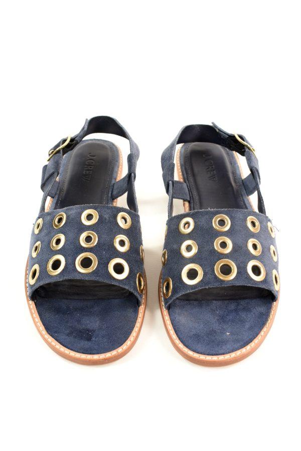 j crew suede sandals